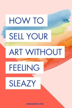 """Here's some creative entrepreneur marketing tips! How to sell your artwork without feeling sleazy. I hear this from SO many creatives: I SUCK at selling. Most probably envision a pushy marketer they follow whose sales tactics are aggressive and obnoxious.T he question I'm sure you ask yourself frequently is, """"How do I sell my work without feeling sleazy?"""" Well, guess what? Not all selling can be treated equally, so here's my top tips! #marketing #artist Creative Business, Business Tips, Price Artwork, Creating A Business Plan, Nice Handwriting, Selling Art Online, Word Out, Small Business Marketing, Business Entrepreneur"""