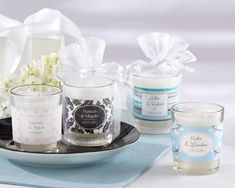 Candle Wedding Favors at American Bridal Favors Weddings and