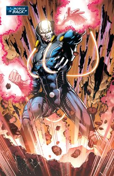 Sky's Full of Comics : The Anti-Monitor, Mobius Justice League #47