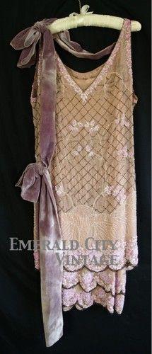1920s - NEMSER ORIGINAL MODEL - BEADED - DRESS