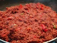 Indisch eten!: Sambal Goreng van Corned Beef: heerlijk met witte rijst!