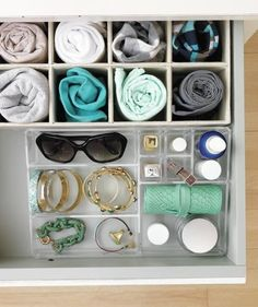 Prevent MIAs   Rescue overstuffed drawers from chaos—and your dresser top from its destiny as a drop spot for junk. Clutter coach Chip Cordelli makes an open-and-shut case for how to do it.