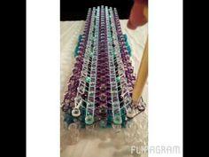 Rainbow Loom Bands Simply Divine Bracelet - YouTube