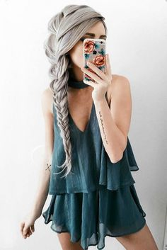 Top 60 All the Rage Looks with Long Box Braids - Hairstyles Trends Box Braids Hairstyles, Bohemian Hairstyles, Trending Hairstyles, African Hairstyles, Pretty Hairstyles, Hairstyle Ideas, Amazing Hairstyles, Fashion Hairstyles, Hairstyles Pictures