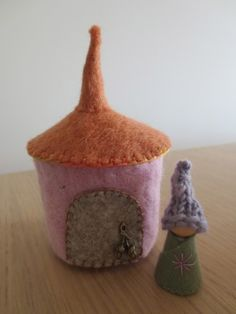 Gorgeous gnome and home from Anna Brandford