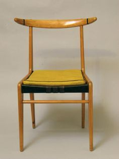 Jerzy Soltan, chair , 1954 Mcm Furniture, Vintage Furniture, Furniture Design, Mid Century Modern Furniture, Midcentury Modern, Mid Century Chair, Vintage Room, Mid Century Design, Sofa Chair