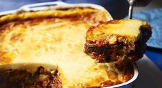 The lowdown: Greek cuisine Moussaka Recipe, Beef Cheeks, Slow Cooked Lamb, Sbs Food, Fried Shallots, Tart Collections, Ramen Recipes, Easy Recipes, Greek Cooking