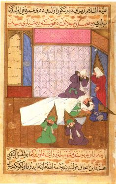 Mourning of the Death of Muhammad Siyer-i Nebi: The Life of the Prophet.  Istanbul, 1595. Hazine 1222, folio 414a - Topkapi