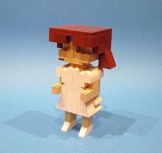 Chibi self-portrait, via Flickr.