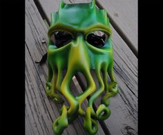 Leather Cthulhu Mask | DudeIWantThat.com