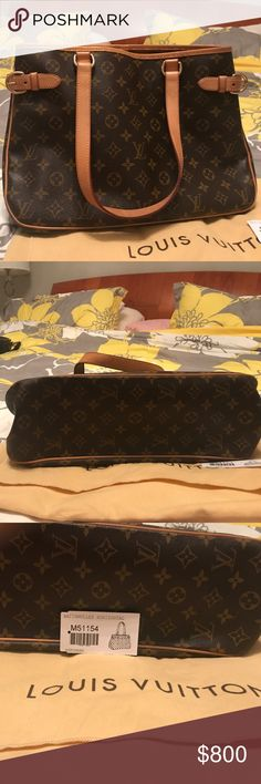Authentic Batignolles Louis vuitton Authentic Louis Vuitton bag, In very good, Minimal signs of wearing. I am open to trade as long as I like the item Louis Vuitton Bags Shoulder Bags