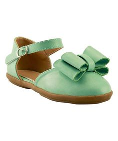 $11.99 This Mint Bow Mary Jane is perfect! #zulilyfinds