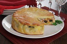 Torta de Cenoura e Berinjela