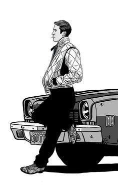 Drive by Federico Mancosu (detail)