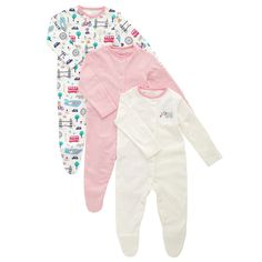 Buy John Lewis Baby London Sleepsuit, Pack of Pink from our Baby Clothes & Accessories Multipacks range at John Lewis & Partners. John Lewis Baby, London Landmarks, Momma Bear, Our Baby, Baby Car Seats, Cute Babies, Contrast, Dressing, Packing