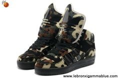 Buy Discount Adidas X Jeremy Scott Big Tongue Camo Shoes Your Best Choice
