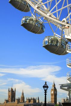The London Eye...one of the city's newer attractions  #england #london #eye