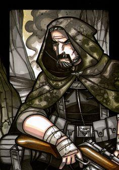 GHOSTMAKER - Sergeant Oan Mkoll by NicolasRGiacondino on DeviantArt