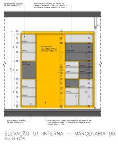 Galeria de Reforma do apartamento Reserva Saúde / Stuchi & Leite Projetos - 12 Kitchen Decor, Kitchen Design, Dinner Room, Architecture Details, Cupboard, Locker Storage, Villa, Interior Design, House