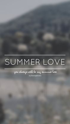 Summer Love // One Direction // ctto: @stylinsonphones (on Twitter)