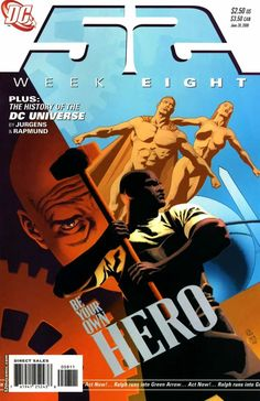 52 #8 - Thief; The History of the DC Universe, Part Seven (Issue)