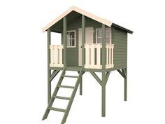 playhouse on stilts | Stilt treehouse | Pinterest