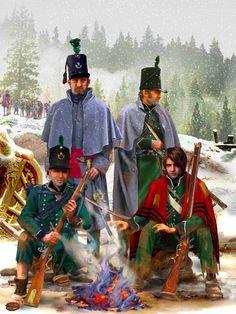Rifles: retreat to Corunna, 1809