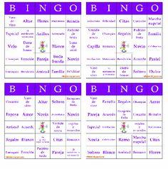 Juegos para despedida de soltera gratis para imprimir - Imagui