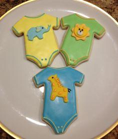 Onesies Baby Onesie, Onesies, Onesie Cookies, Cookie Decorating, Sugar, Cake, Desserts, Diy, Food