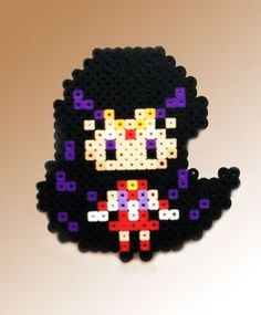 Sailor Moon Inspired 8 Bit Perler - Sailor Mars via eb.perler. Click on the image to see more!
