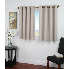 Found it at Wayfair - Ultimate Black-Out Short Single Curtain Panel