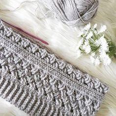 Crochet Scarves, Crochet Shawl, Free Crochet, Knitted Cowls, Crochet Headbands, Crochet Stitches Patterns, Stitch Patterns, Knitting Patterns, Crochet Crafts