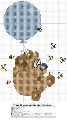 animation cross stitching