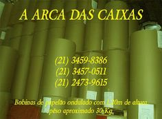 CAIXA DE PAPELÃO : Caixas de Papelão: Rolo de Papelão | Papelao Ondulado | ARCA DAS CAIX... Art Supplies, Rio, Corrugated Sheets, Sheet Metal, Carton Box, Boxes, January