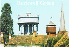 Rockwell Green water towers 1935 & 1908