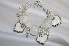 Broken China Jewelry Instructions | Broken China Jewelry China Heart Bridal by Robinsnestcreation1, $96.95