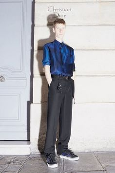 Dior Homme Deconstructs Tailoring In Pre-Fall 2018 Lookbook – PAUSE Online | Men's Fashion, Street Style, Fashion News & Streetwear