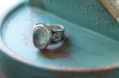 Boho Ring US size 7 1/4, Bohemian Ring, Yoga Ring, Gemstone Ring, by Sonajewelry on Etsy