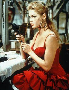 Brigitte Bardot on the set of La Lumiere D'en Face (1959)