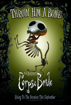 TB075. Scraps / Corpse Bride / Movie Poster by BLT COMMUNICATIONS, LLC (2005) / #Movieposter