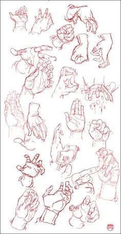 Hand Study by kizer180.deviantart.com ✤ || CHARACTER DESIGN REFERENCES | キャラクターデザイン • Hands are soooooo Hard to draw!!