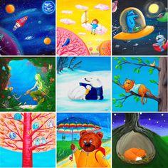 Amazing Journey Art by Folt Bolt Cute Polar Bear, Polar Bears, Outer Space Decorations, Mermaid Wall Art, Funny Birds, Colorful Artwork, Art Prints For Sale, Woodland Nursery Decor, Jungle Theme