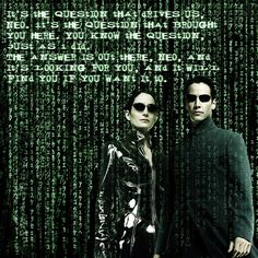 I love the Matrix and always wanted to figure out how to make that falling code.