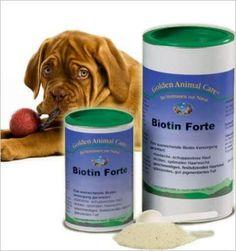 Biotin-Forte Pulver til Hunde - Giver ny pels