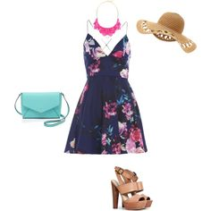 Summer 15 by andrea72132 on Polyvore featuring AX Paris, Steve Madden, Kate Spade and George J. Love