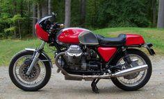 Moto Guzzi 850T Custom - Left Side