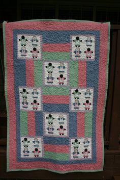 Clown fabric that I found in a thrift shop in Tulsa OK. My first ... : quilt shops tulsa ok - Adamdwight.com