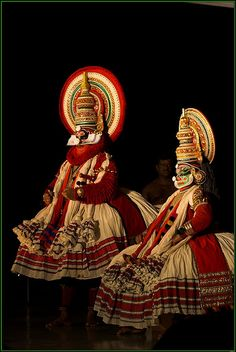Explore Kathakali dance form, Kerela, India