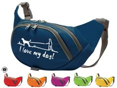 a1961ba439d97 Hundesport Bauchtasche Fun  I love my Dog