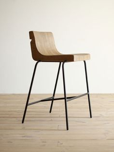bar stool option.  I am drawn towards a wood seat and dark metal legs.  I like the idea of a back that's not overpowering.